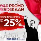 Sambut Hari Perjuangan Indonesia, ESQ Bagi-Bagi Promo Hingga 25% Untuk Semua Training Unggulan