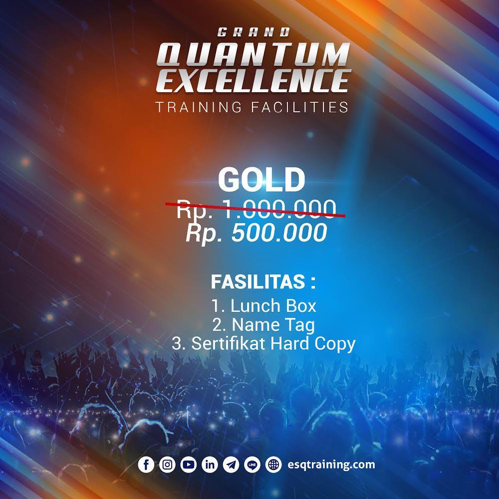 Tiket Grand Quantum Excellence Jakarta Gold